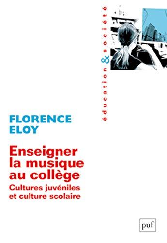 enseigner la musique: Florence Eloy