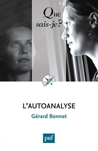 Autoanalyse (L') [nouvelle édition]: Bonnet, G�rard