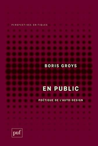 En public: Groys, Boris