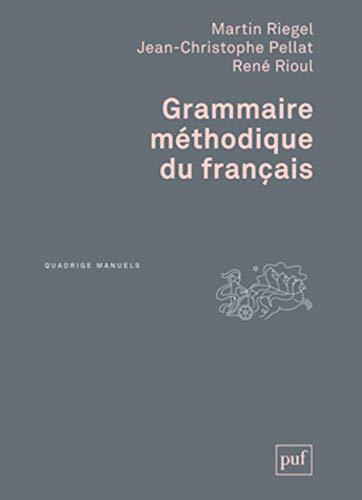 9782130627562: Grammaire méthodique du français