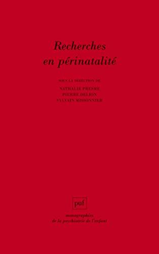 9782130628545: Recherches en périnatalité