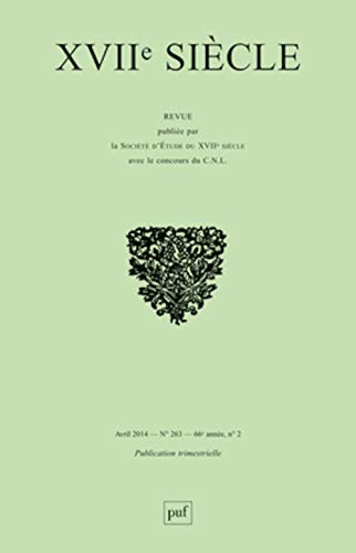 Revue XVIIe siècle, no 263: Collectif