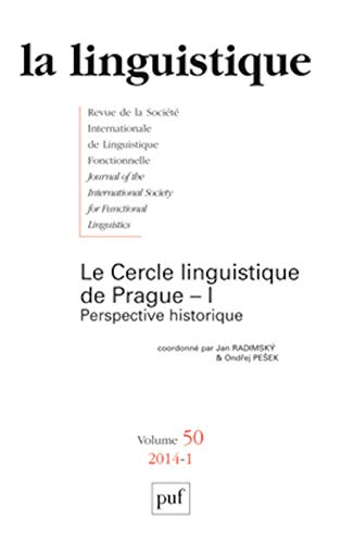 Linguistique 2014 vol 50 n 1: Jan Radimsky, Ondrej Pesek