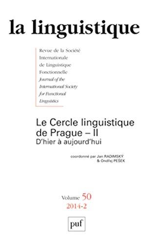 La linguistique, N° 2, fasicule 50, 2 :: Jan Radimsky, Ondrej Pesek