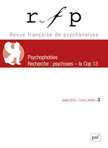 Revue Française de Psychanalyse 2014 T78 N 3