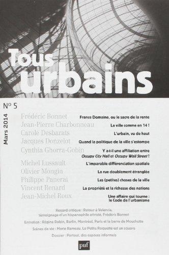 Revue Tous urbains, no 05: Collectif
