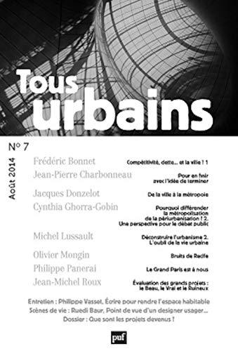 Revue Tous urbains, no 07: Collectif
