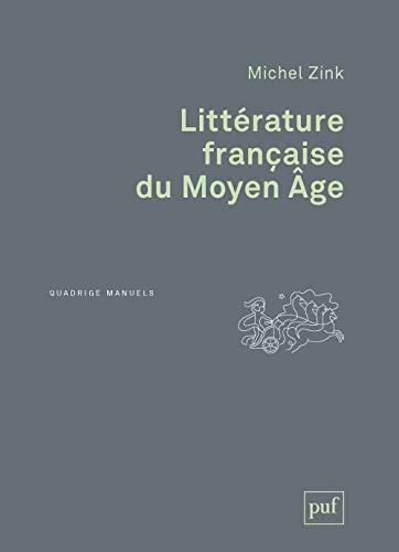 9782130630210: Littérature française du moyen âge (2e édition)
