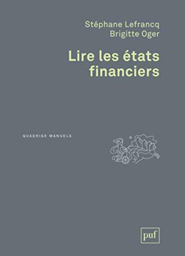 9782130632580: Lire les états financiers