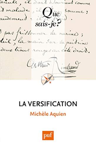 9782130633310: La versification