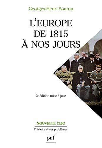9782130634928: L'europe de 1815 a nos jours (3ed)
