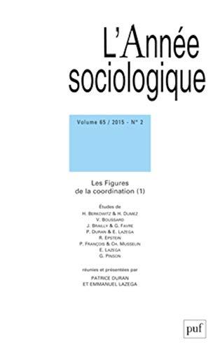L'Annee Sociologique 2015 Vol 65 N 2: Collectif