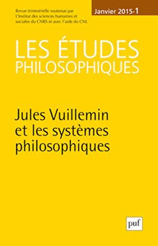 Etudes philosophiques 2015, no 01: Collectif