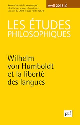 Etudes philosophiques 2015, no 02: Collectif
