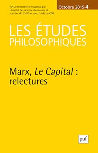 9782130651123: Les Études Philosophiques 2015 N 4