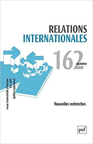 Relations internationales, no 162: Collectif