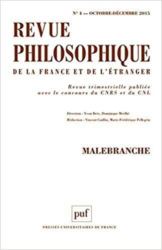 Revue philosophique 2015, no 04: Collectif