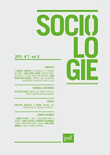 Sociologie 2015 N 2: Collectif