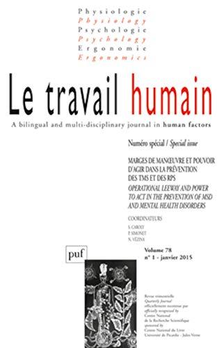 9782130651543: Le travail humain 2015 - vol. 78 - n� 1