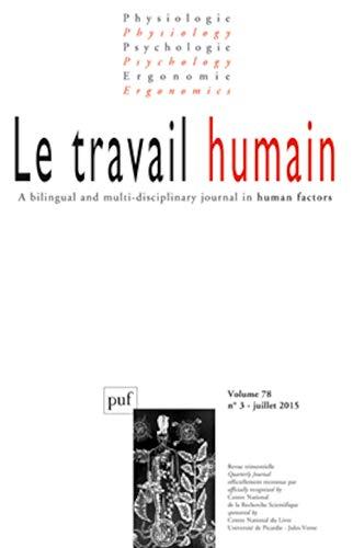 Travail humain 2015, v. 78, no 03: Collectif