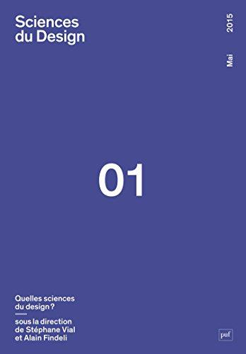 Sciences du design 2015, no 01: Collectif