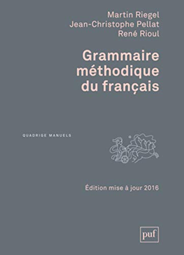 9782130732853: Grammaire méthodique du français