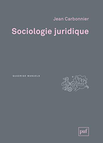 9782130735830: Sociologie juridique