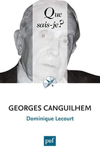 Georges Canguilhem [nouvelle édition]: Lecourt, Dominique