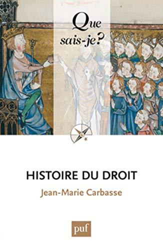 9782130799566: Histoire du droit