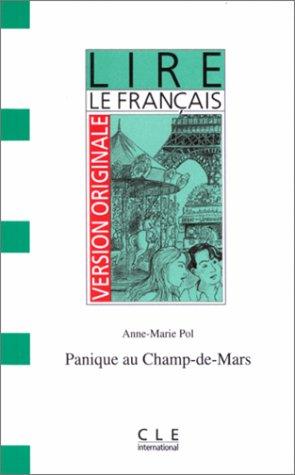 9782190319643: Panique au Champ-de-Mars