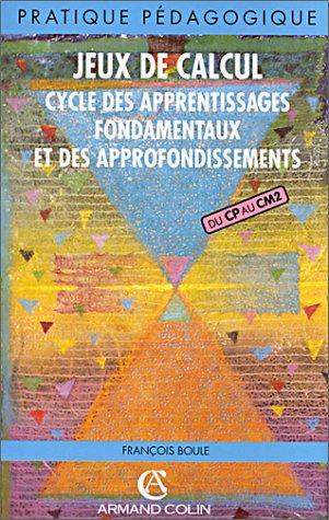 9782200012328: JEUX DE CALCUL (Ancienne Edition)