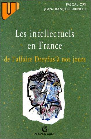 9782200014032: LES INTELLECTUELS EN FRANCE DE L'AFFAIRE DREYFUS A NOS JOURS