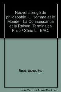9782200014322: Nouvel abrégé de philosophie, série L