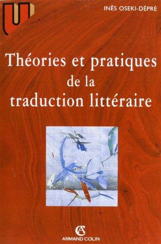 9782200015688: Théories et pratiques de la traduction littéraire