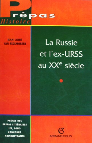 9782200016654: La Russie et l'ex-URSS au XXe si�cle
