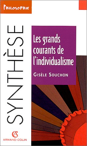 9782200018146: Les grands courants de l'individualisme