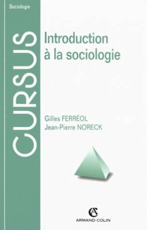 9782200210106: Introduction a la sociologie 5ed