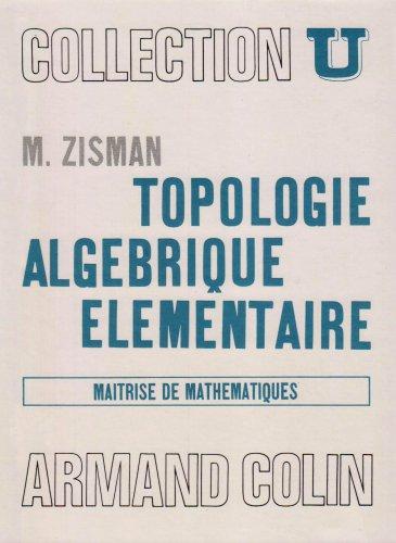 9782200210533: Topologie algébrique élémentaire