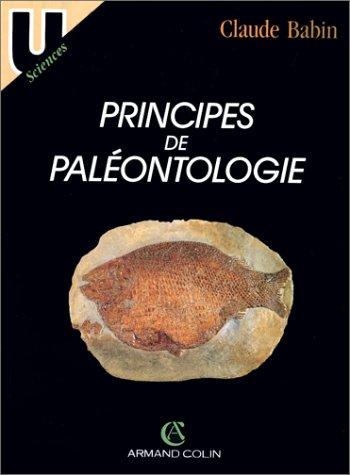 9782200210748: Principes de paléontologie