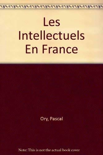9782200211769: Les Intellectuels En France (French Edition)