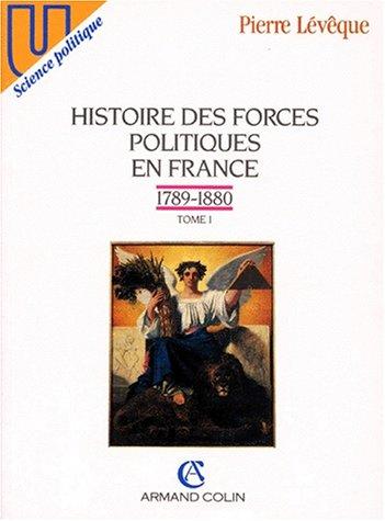 9782200212360: Histoire des forces politiques en France (U. Science politique) (French Edition)