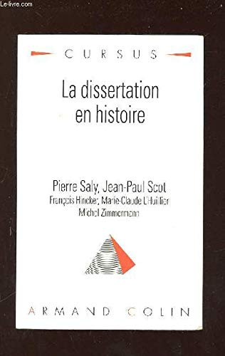 pierre saly dissertation histoire