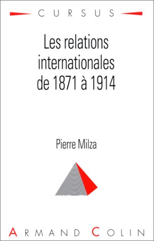 9782200215927: Les Relations internationales de 1871 à 1914