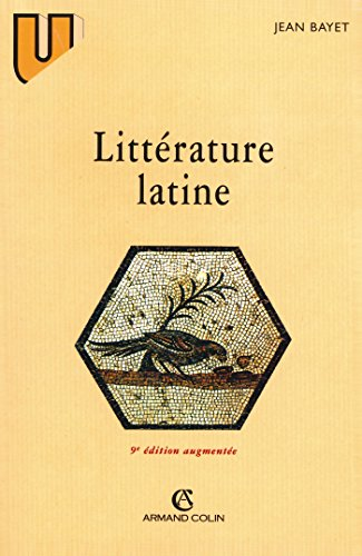 9782200216795: LITTERATURE LATINE. 9�me �dition 1996
