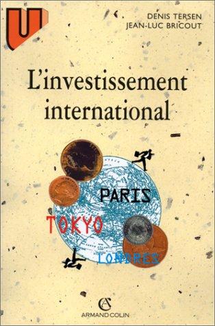 9782200217228: L'investissement international