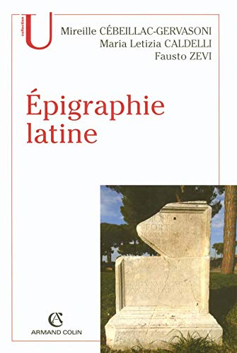 9782200217747: Epigraphie latine