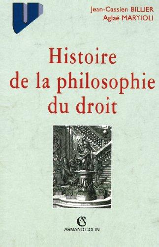 9782200217839: Histoire de la philosophie du droit