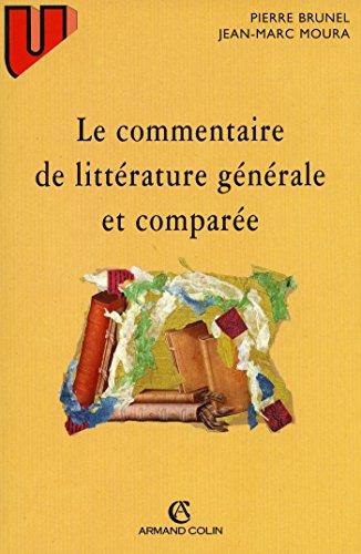 9782200218812: Le Commentaire de littérature générale et comparée
