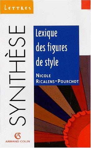 9782200218928: Lexique des figures de style