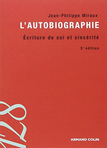 9782200243210: L'autobiographie (French Edition)
